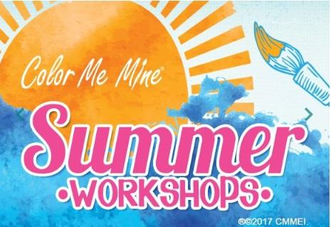 SUMMER CAMP: AUGUST 5-9 - WHERE IN THE WORLD -Color Me Mine-Highland Village